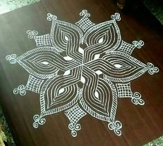 Simple machine quilting beautiful 35 Ideas for 2020 Indian Rangoli Designs, Rangoli Designs Latest, Rangoli Border Designs, Small Rangoli Design, Rangoli Designs Images, Rangoli Ideas, Rangoli Designs With Dots, Beautiful Rangoli Designs, Mandala Design