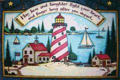 Light House Doormat