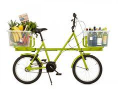 La bicileta Donky está diseñada para ser utilizada como medio de transporte diario y ser útil al realizar las compras del supermercado, llevar herramientas de trabajo o hasta a la mascota.