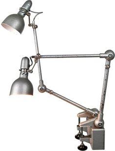 French Lumina Brevete Desk Lamps, Pair $649.00