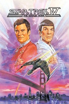 Star Trek IV The Voyage Home is a 1986 American science fiction film released by Paramount Pictures It is the fourth feature film based on Star Trek and is Star Trek 4, Watch Star Trek, Star Trek Ships, Star Trek Characters, Star Trek Movies, Star Trek Original, Star Trek Posters, Movie Posters, Kino Film