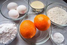 Σιροπιαστά Κεκάκια Πορτοκαλιού Mini Cakes, Orange, Party, Food, Parties, Meals, Yemek, Eten, Mini Pastries