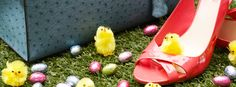 Happy Easter! Pool Slides, Happy Easter, Sandals, Chic, Photography, Happy Easter Day, Shabby Chic, Shoes Sandals, Photograph
