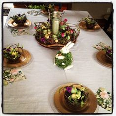 Easter Table scape! By Danielle Iarussi