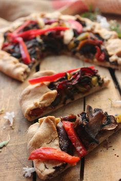 Vegetables galette.