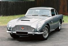 """Often billed as the """"most famous car in the world""""- James Bond's Silver Birch Aston Martin Db5, Gentleman, James Bond Cars, Automobile Companies, Classy Cars, Mercedes Benz Cars, Car In The World, Hot Cars, Cars"""
