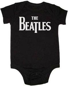 Rock N Roll Baby Onesie: Beatles