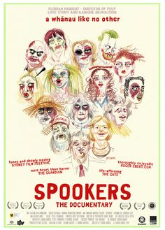 Spookers (2017) - The films of Florian Habicht Long White Cloud, Florian, New Zealand, Love Story, Clouds, Movie Posters, Movie, Northern Goshawk, Film Poster