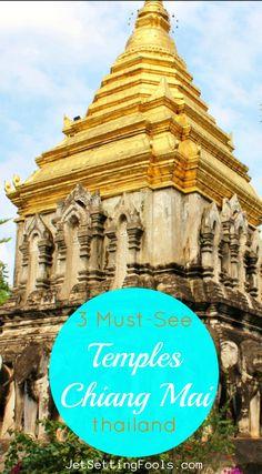 Temples in Chiang Mai, Thailand JetSettingFools.com