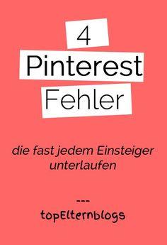 Pinterest: Anfängerfehler vermeiden