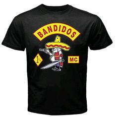 """Bandidos MC--I remember them passing our car once, back in the 70s.  My mom said """"don't look at them, they'll kill you!!""""  I did anyway, and they just smiled at me & waved, and sped on past.  Will never forget the tough ol' bikers making a young kids day!(and making her mom nearly pee her pants)"""