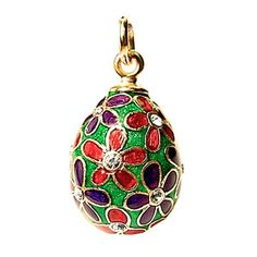Spring Egg Pendant Lila, £56, now featured on Fab.