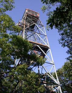 Dorset Scenic Lookout Tower with awesome views of Lake of Bays and Dorset.  Also has a ground level lookout, gift shop and picnic grounds...all for a small per vehicle charge.