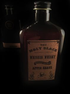 Whisker Whisky Aftershave Treatment