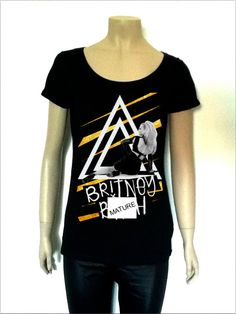 #BritneySpears Scream and shout black #tshirt nby librastyle