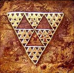 Pintadera triangular