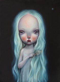 Dilkabear's amazing new work 'Su ana', 2014. Oil on linen, 30 x 40 cm in Issue 006 of #beautifulbizarre >www.beautifulbizarre.net/shop   Dilka's new body of work including Su ana will be showing at Auguste Clown Gallery in Melbourne from 19th September - 12th October. The Editor of Beautiful Bizarre Magazine will be at the opening, so hopes to see all our VIC followers at Dilka's 'Forgotten Memories' exhibition