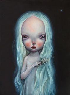 Dilkabear's amazing new work 'Su ana', 2014 #art #lowbrow #painting