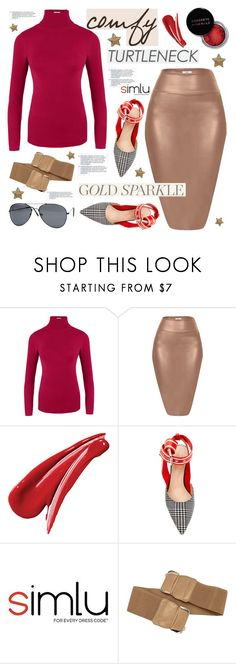 """Comfy Turtleneck"" by simlu-clothing on Polyvore featuring Concrete Minerals, Sephora Collection and Monse"