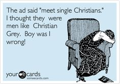 Meet Single Christians! #FiftyShades @50ShadesSource