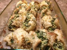 Spinach And Cheese Stuffed Tilapia Recipe