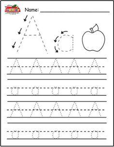 Ultimate Free Writing Printables for Pre-school/Reception Aged Children | K Elizabeth
