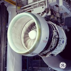 Our 12,000 pound GEnx jet engine prepares for ice testing.