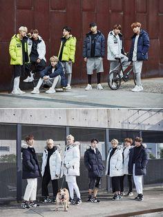 BTS Models the Latest 'Puma' Winter Jackets in New Photoshoot   Koogle TV