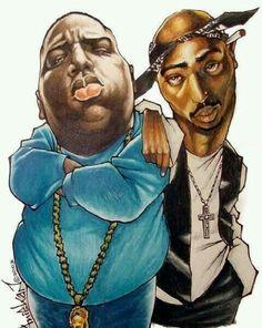 The kings rap biggiesmalls n' 2pac