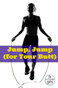 Bust out your jump rope and get a butt burn with this quick workout! |Fit Bottomed Girls