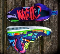 """Nike LeBron 9 """"What the 90s"""" by District Customs"""