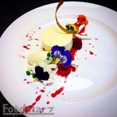 Elderflower Cheesecake, Rosewater Meringue
