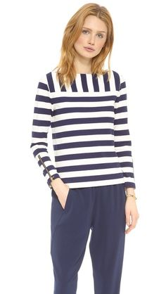 Tory Burch stripes.
