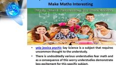 Yelp Jessica Psychic Principal On How To Make Maths Interesting