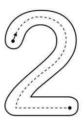 Preschool Writing, Numbers Preschool, Kindergarten Math Worksheets, Preschool Curriculum, Preschool Printables, Preschool Lessons, Teaching Kindergarten, Learning Numbers, Nursery Activities