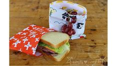 Tutorial: Reusable snack bags