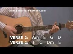 Acoustic Guitar Play Hotel California for Beginners - YouTube