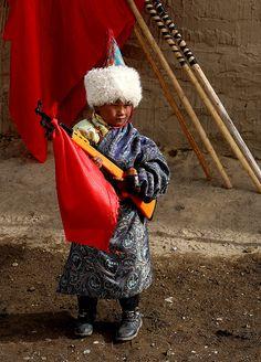 Toy Gun . Gansu Province . China