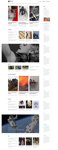 A Website Creation Guide For Creating Spectacular Compelling Websites News Web Design, Web Design Company, Site Design, Web News, Blog Layout, Web Layout, Layout Design, Drag Queens, Portal