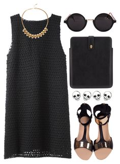 """""""198"""" by dasha-volodina ❤ liked on Polyvore featuring moda, Rachel Comey, Minty Meets Munt, Alexander McQueen, River Island y American Apparel"""