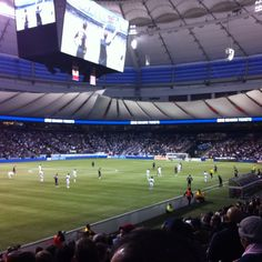 Catching a Whitecaps game