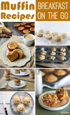 Make-ahead muffins are the perfect breakfast on the go. Store-bought muffins are filled with preservatives and are often dry, while these recipes guarantee fresh ingredients like blueberries or special ingredients like chocolate stout or pumpkin spice latte! Recipes here: http://www.ehow.com/info_8418180_list-types-muffins.html?utm_source=pinterest.com&utm_medium=referral&utm_content=curated&utm_campaign=fanpage