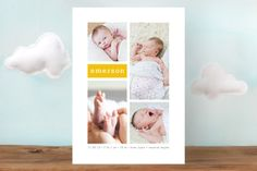 Gallery Birth Announcements by Susan Asbill at minted.com