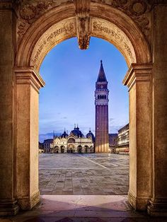 I like his photo because it uses the framing of a cool stone arch to frame the picture of the tower.