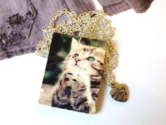"""Style with Mind necklace """"Kitty"""". www.magne.ie"""