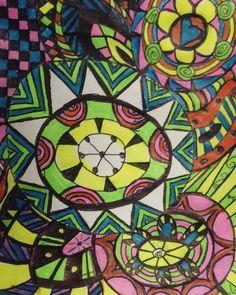 Since I've started working I've picked up a new habit... I love doodling!