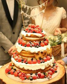 冬仕様ネイキッドケーキが可愛すぎ♡ | marry[マリー]