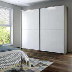 BuyJohn Lewis Girona 200cm Wardrobe With Mirrored Sliding Doors, Mirrored Glass/Alpine White Online at johnlewis.com