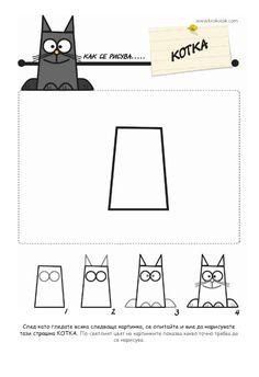 Poes tekenen / cómo dibujar un gato