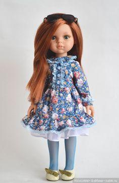 Платье и колготы на кукол от Паола Рейна / Одежда для кукол / Шопик. Продать купить куклу / Бэйбики. Куклы фото. Одежда для кукол